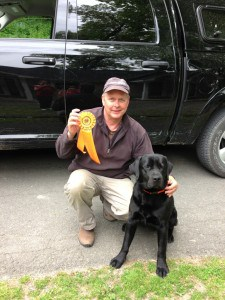 Cochi's first hunt test- Endless Mt. Labradors