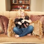 Endless Mountain Labrador pups with Donna Stanley